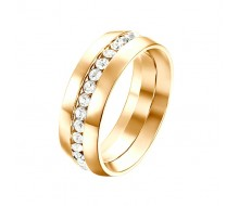 Bague - Yparah - Orion Gold en Cristal