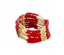Bracelet INDIANA collection 2015 ROUGE