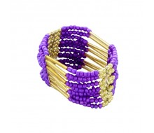 Bracelet INDIANA collection 2015 PURPLE