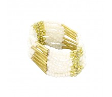 Bracelet INDIANA collection 2015 BLANC