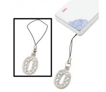 Lettre O style Diamond Metal Mobile Phone Chain