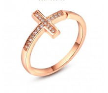 Bague - Yparah - Cross en Cristal