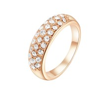 Bague - Yparah - Emotion Gold en Cristal